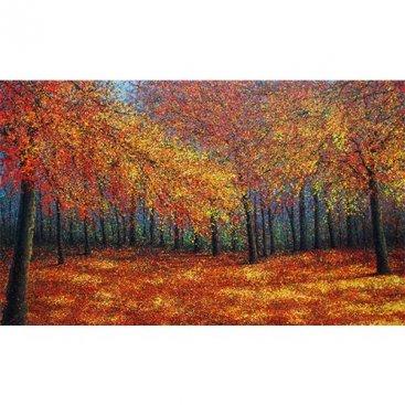 The-Season-of-Love—AUTUMN-WORLD,-Narate-Kathong,-200-x-120-cm-[USD-9,800]