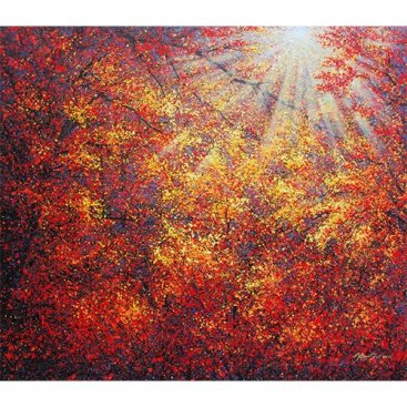 The-Season-of-Love—SUNSHINE-II,-Narate-Kathong,-140-x-120-cm-[USD-6,800]